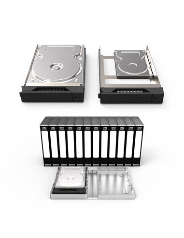 Stardom KCG-i311 Black Kit Caddy HDD y Estuche Cabinas Thunderbolt