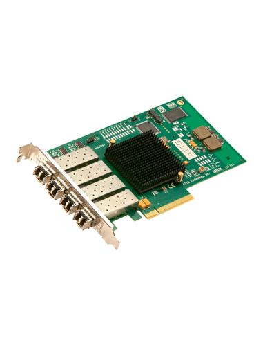 ATTO 8Gb FC 4Ch. PCIe x8 Gen2.0 Optical SFP+ LC Full Height HBA