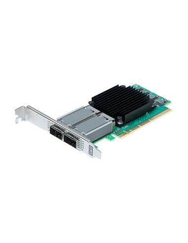 ATTO FastFrame3 Dual Channel 25/40/50GbE x8 PCIe 3.0 Low Profile QSFP28