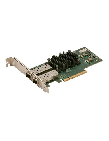 ATTO FastFrame Dual Channel x8 PCIe Gen2.0 10GbE Optical SFP+ LC Low Profile HBA
