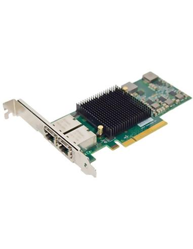 ATTO FastFrame Dual Channel x8 PCIe Gen2.0 10Gb Ethernet NIC Low Profile RJ45 Interface