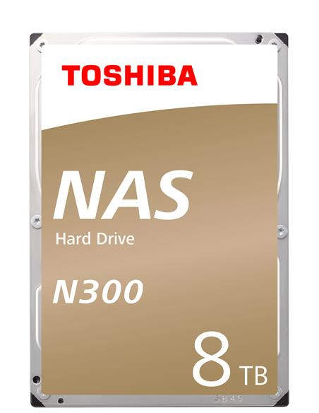 Toshiba N300 NAS 8TB-7200rpm 128MB - Canon Digital Incluido