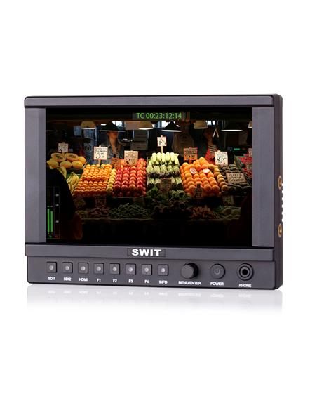 "7"" 2K/3G/HD/SD-SDI/4K HDMI 2.0, 1920*1200 including sun hood, coldshoe stand, D-tap"