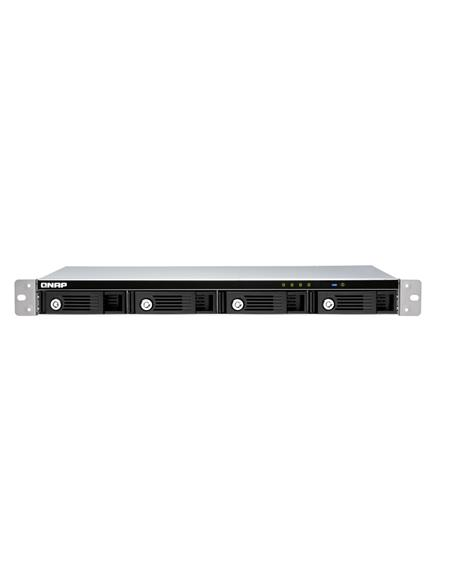 "4-bay 1U 12"" short-depth rackmount 3.5"" SATA HDD USB 3.0 type-C hardware RA"